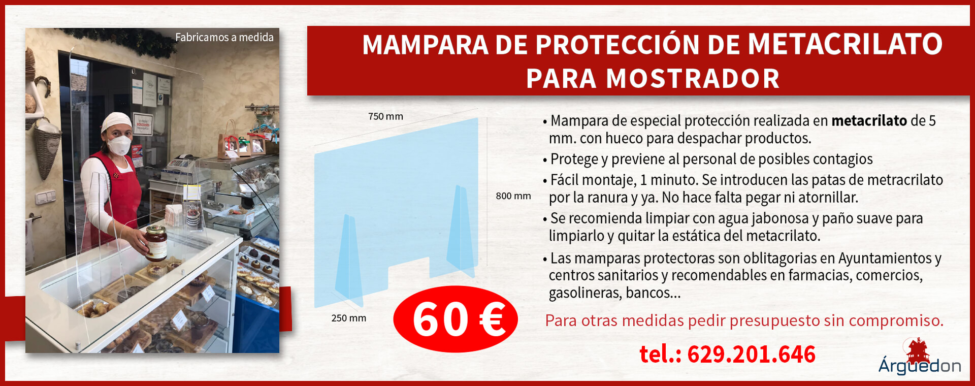 Mampara de Proteccion